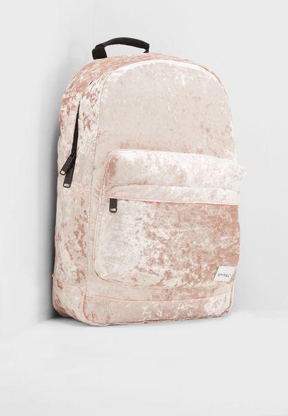 Crushed Velvet Backpack