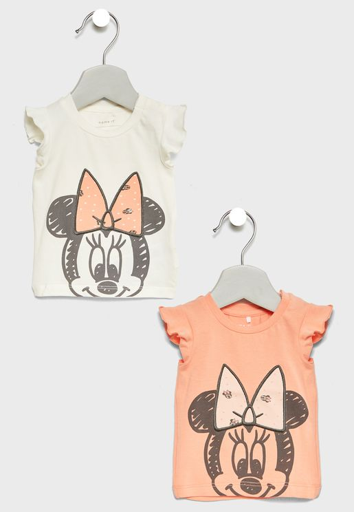 Infant 2 Pack Minnie Tops