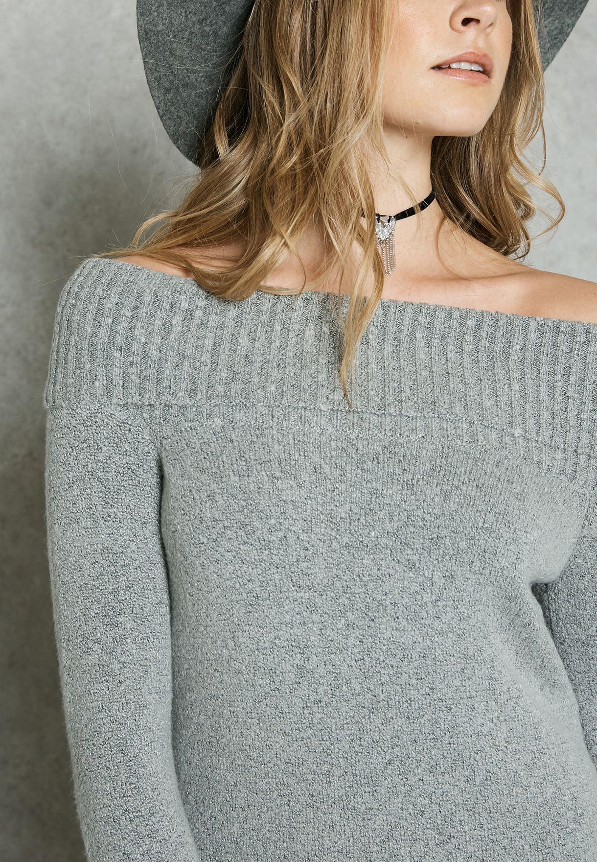 Bardot Sweater Dress