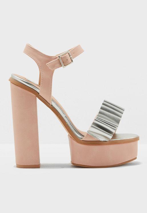 Strap Platform Sandal