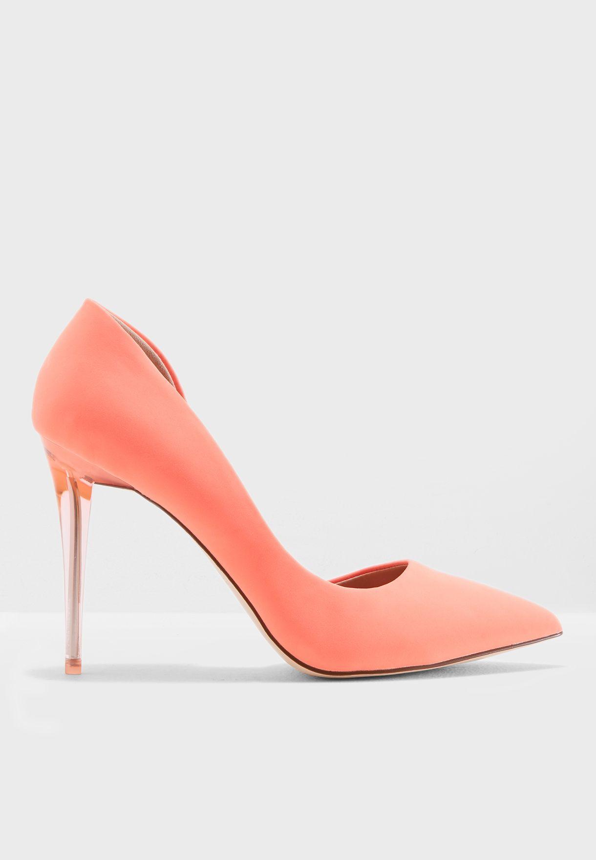 5fdea5976bcb Shop Call It Spring pink Neon Thaoven Pump THAOVEN820 for Women in ...