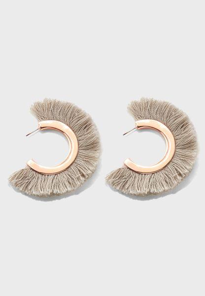 All Round Tassel Earrings