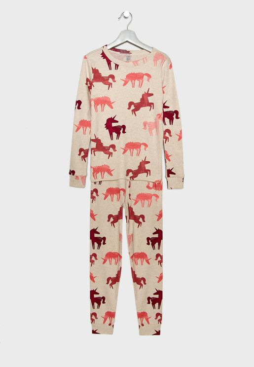 Kids Unicorn Pyjama Set