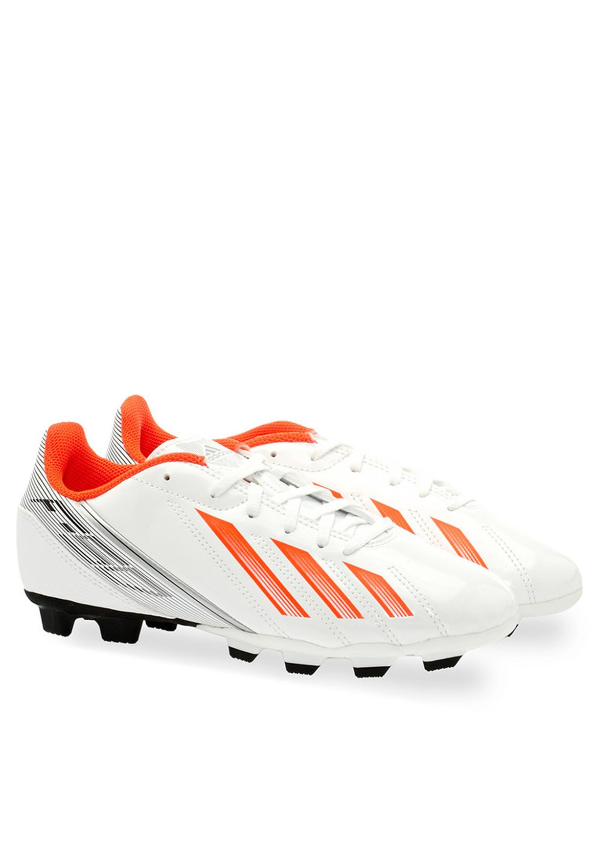 b36a5476ac2 Shop adidas white F5 TRX FG FB Boots M22370 for Kids in Kuwait ...