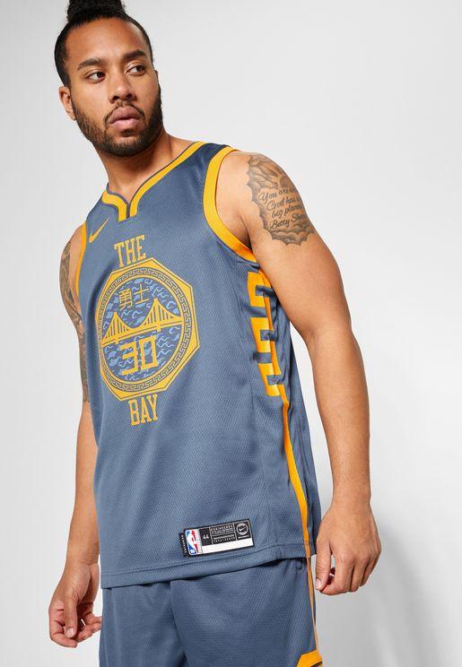 Golden State Warriors Stephen Curry Swingman Jerse