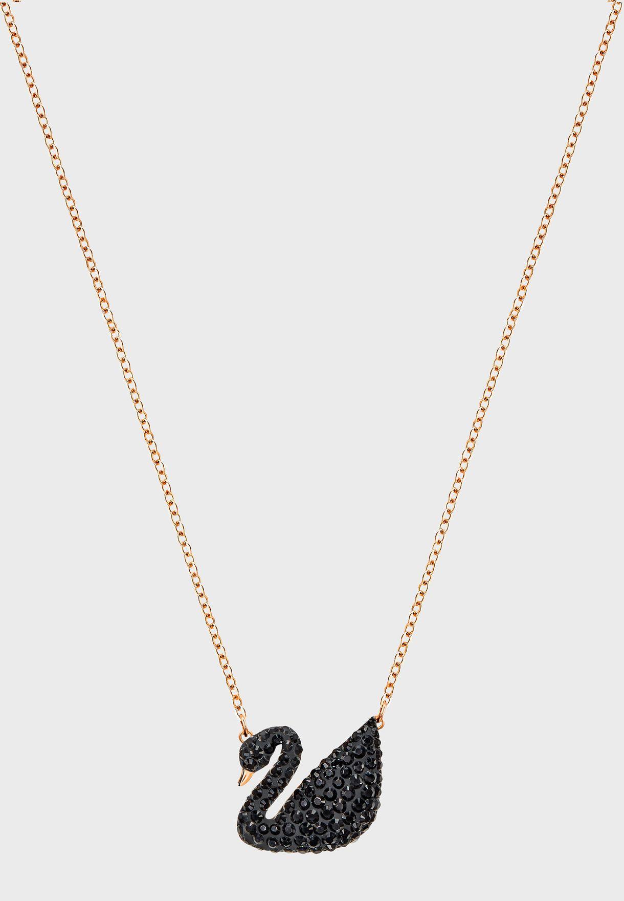 Shop Swarovski gold Iconic Swan Necklace 5204134 for Women in UAE ... 0e6e4b2ca9c