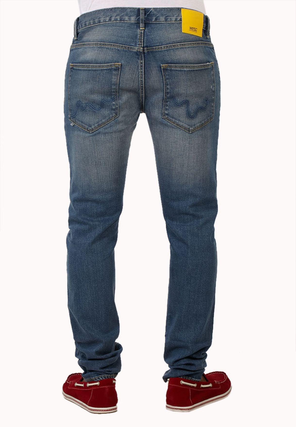 WESC maglietta slim fit 5 tasche Jean