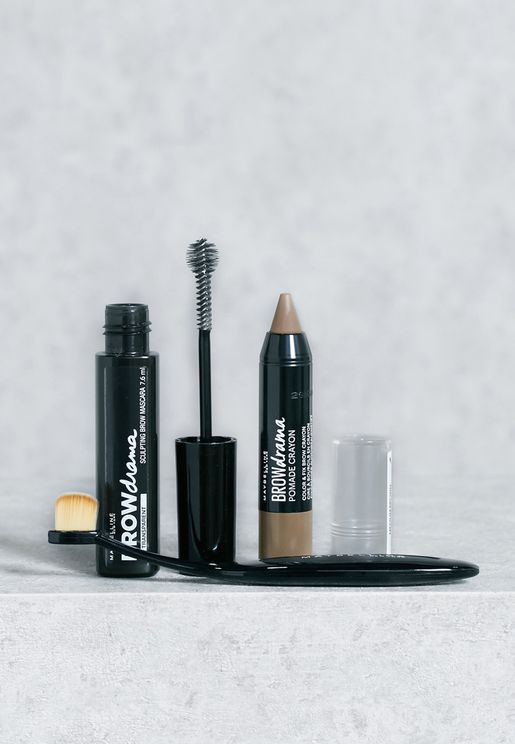 Transparent Blister Brow Kit With Brush
