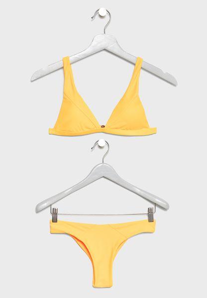 Plunge Double Strap Bikini