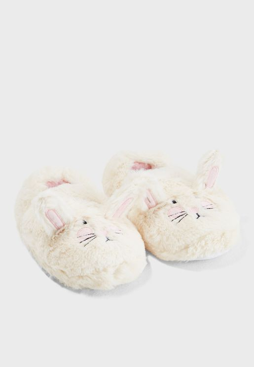 Kids Rabbit Slip On