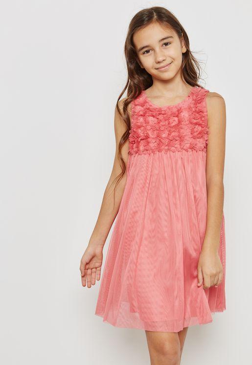 Little Salma Mesh Dress