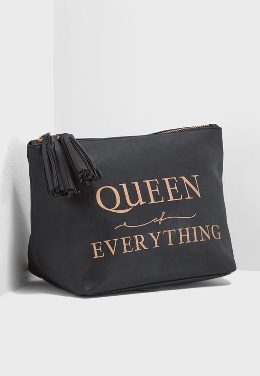 Large Queen Florence Cosmetic Bag