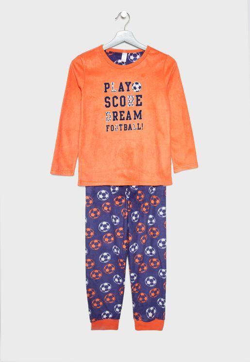 Kids Football Pyjama Set