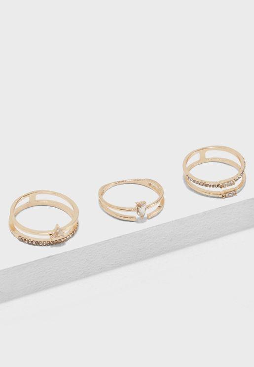 Multipack Cadarema Rings