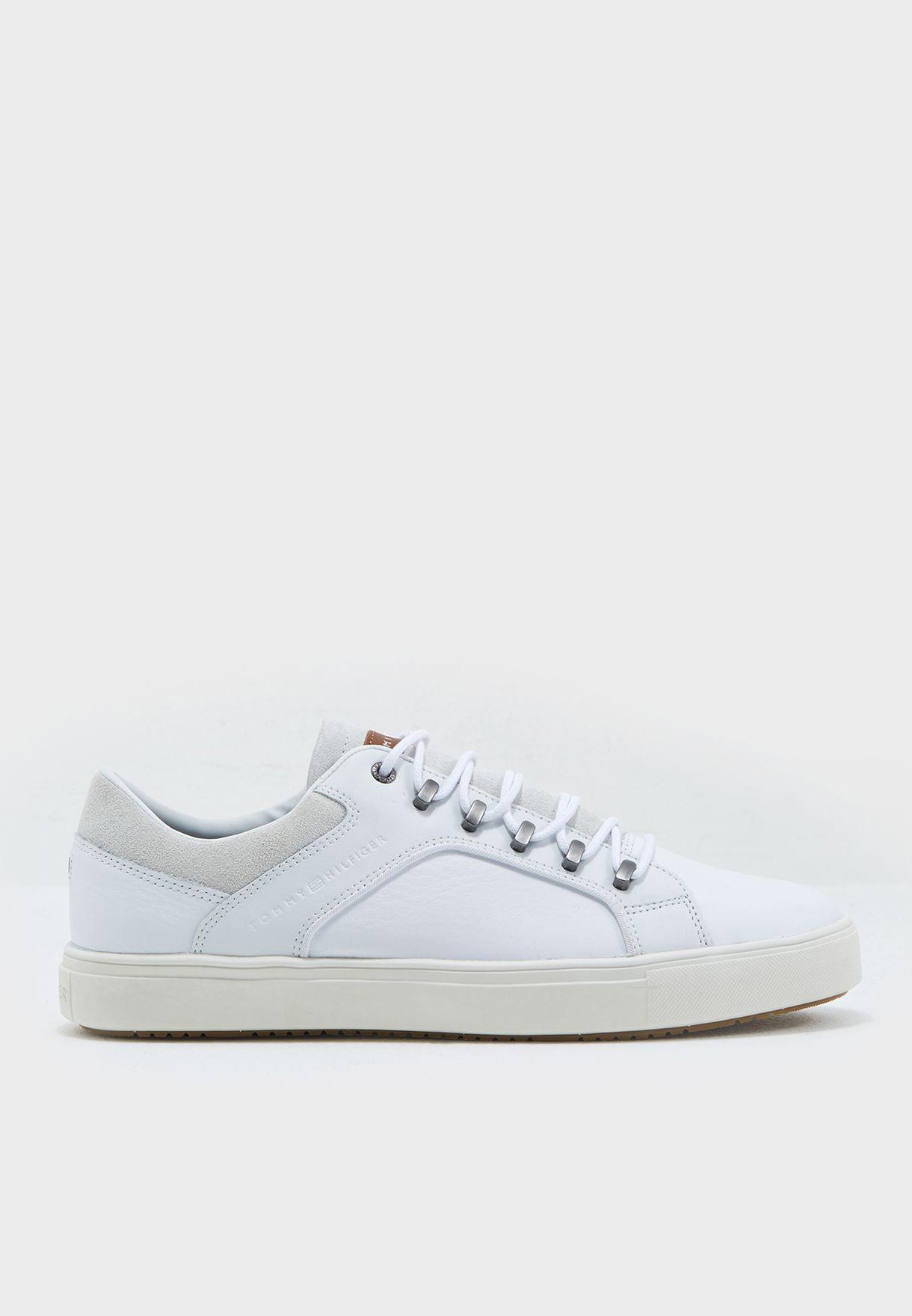 b1d3fc8c991c8c Shop Tommy Hilfiger white Moon Sneaker FM0FM00724100 for Men in UAE ...