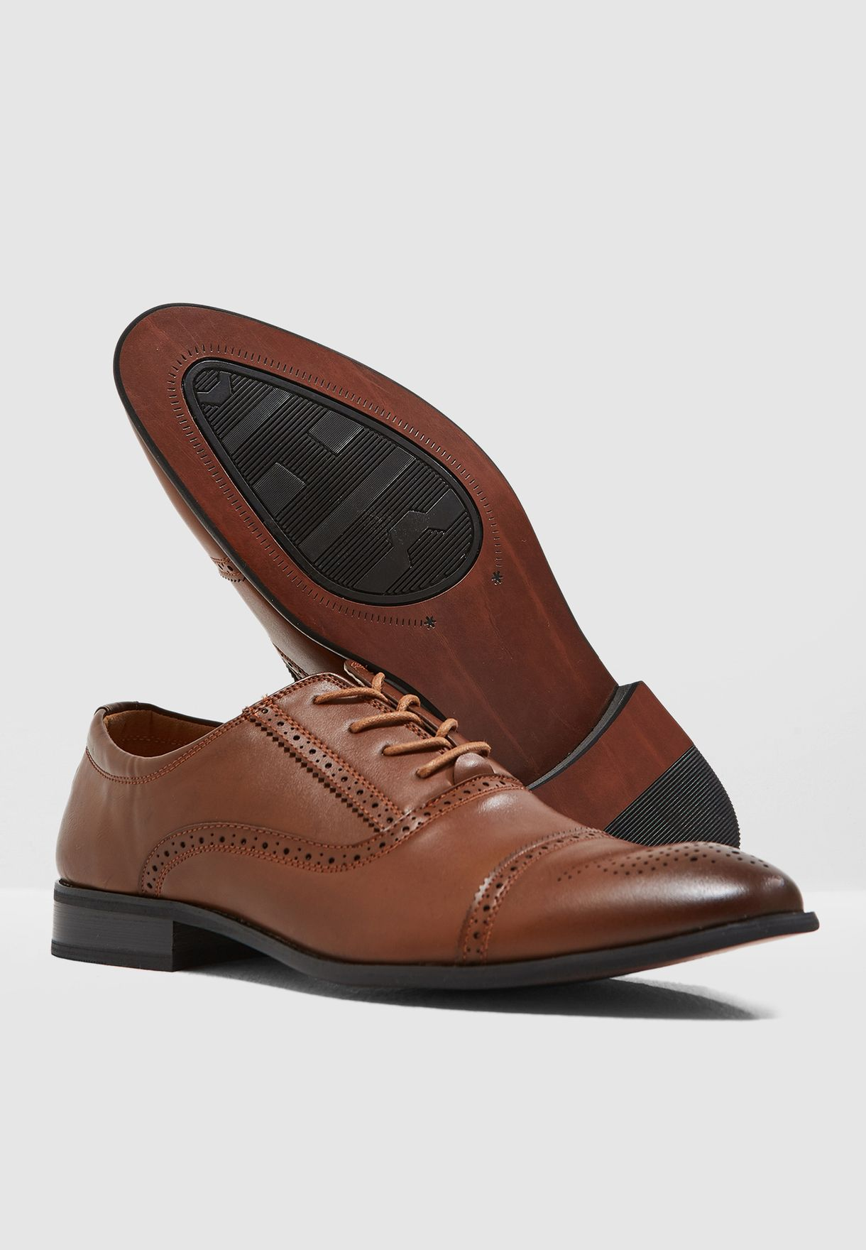 Classic Brogue Oxford Lace Ups