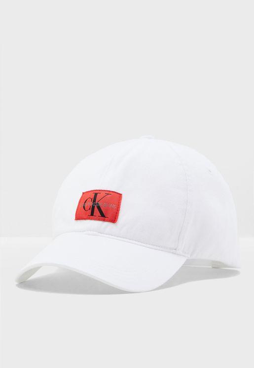 Monogram Curved Cap