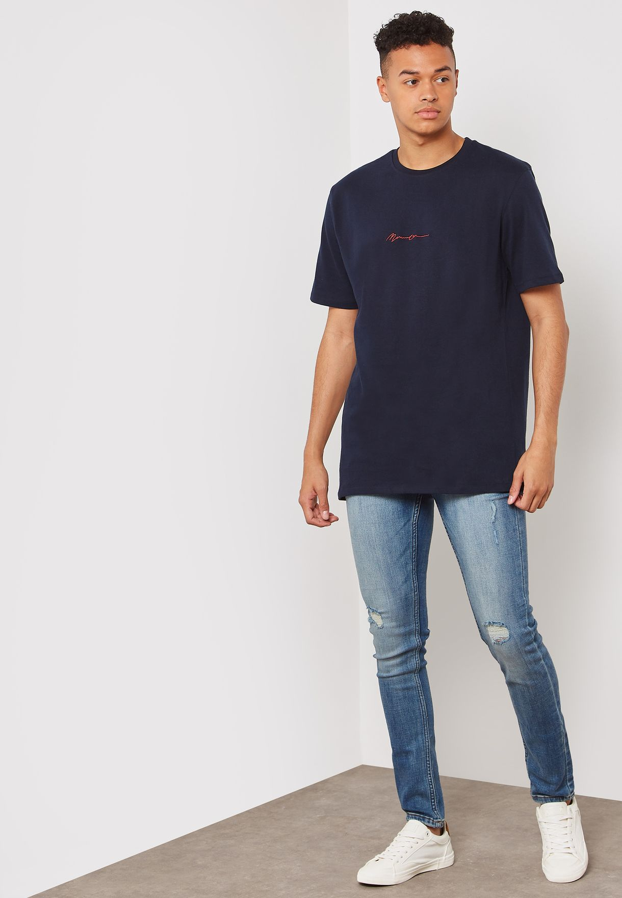 Essential Relaxed Crew Neck T-Shirt