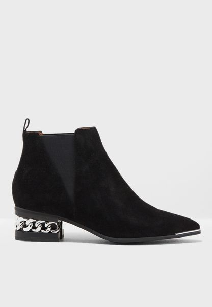 Gusset Ankle Boot