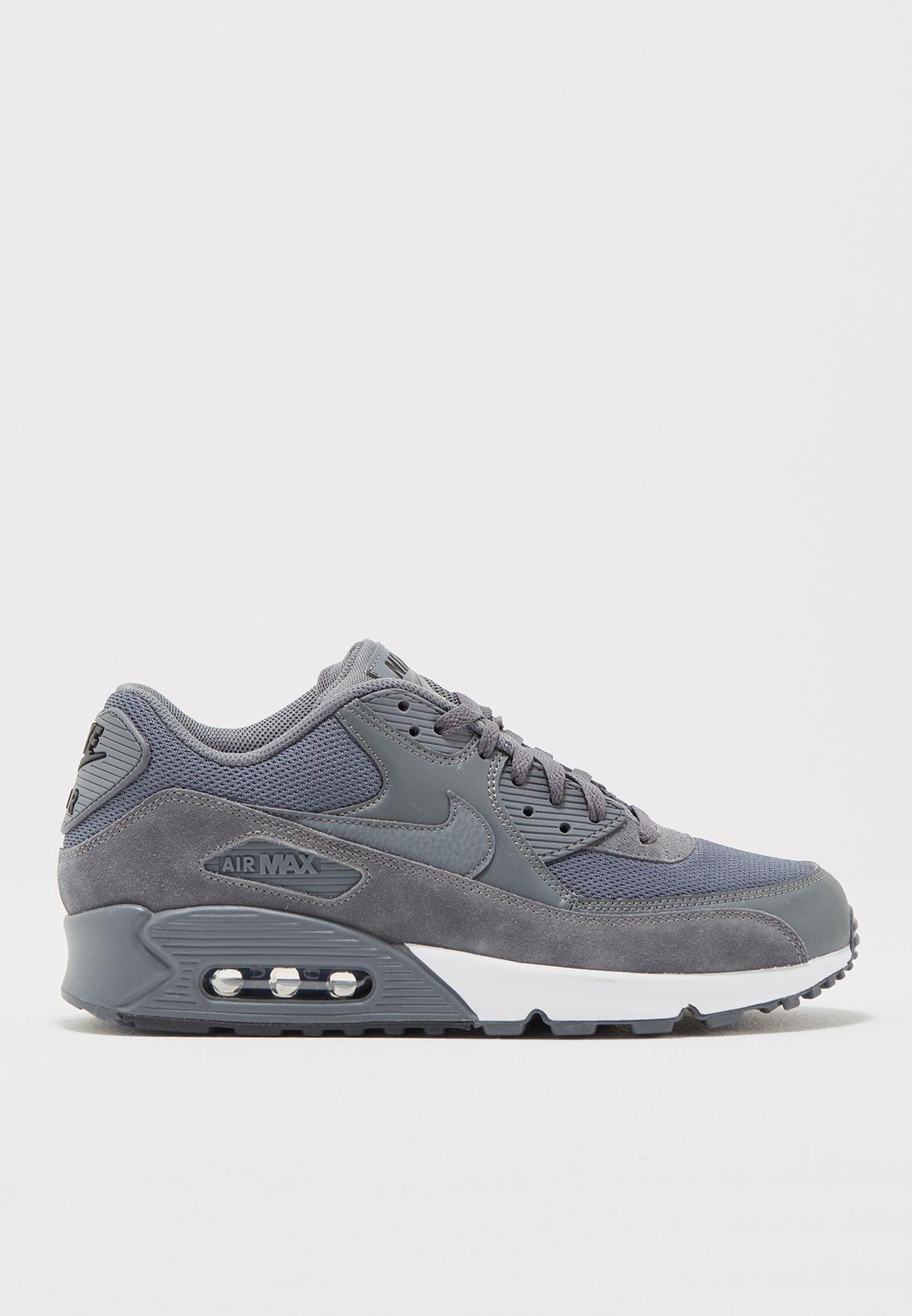 d3768b5745 Shop Nike grey Air Max 90 Essential 537384-078 for Men in Saudi ...