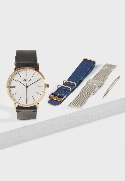 Series 3 Interchangeable Strap Watch Set