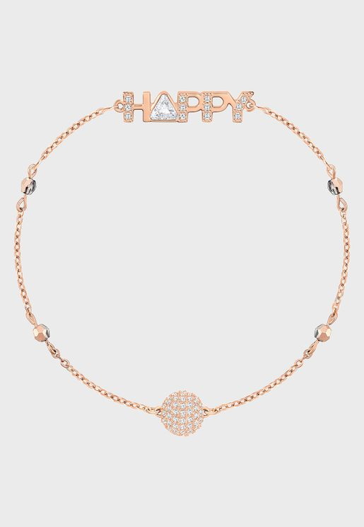 Swarovski Remix Collection Happy Bracelet