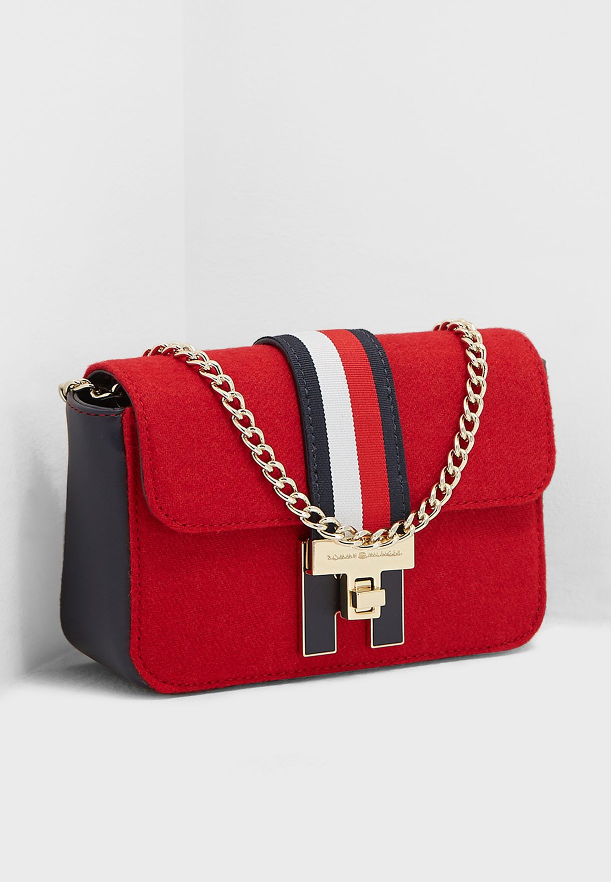 Shop Tommy Hilfiger multicolor Mini Heritage Crossbody AW0AW05834 ... 9496028e5699c