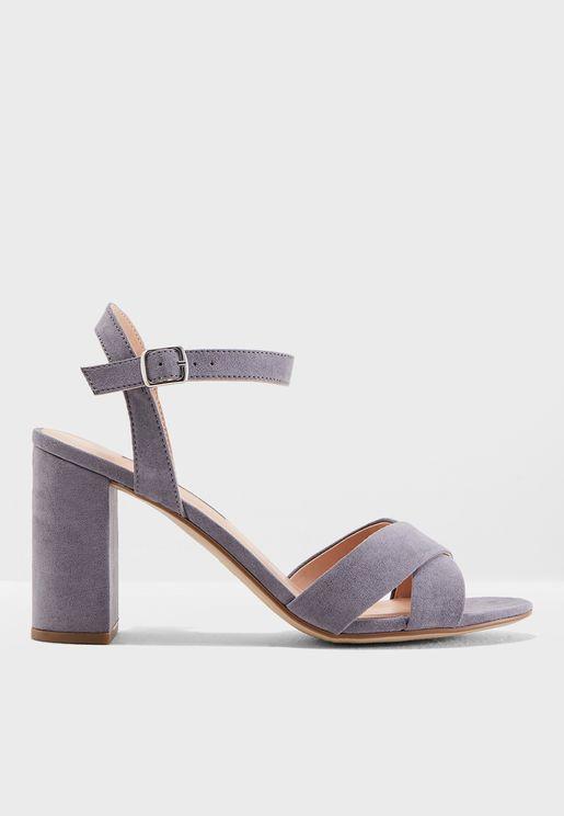Serena Block Heel Sandal