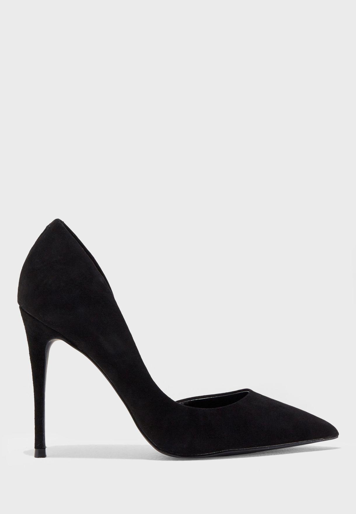 Presunto humedad Guarda la ropa  Buy Steve Madden black Felicity Suede Pump for Women in MENA, Worldwide |  FELICITY