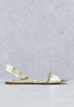 Yoana Metallic Sandals