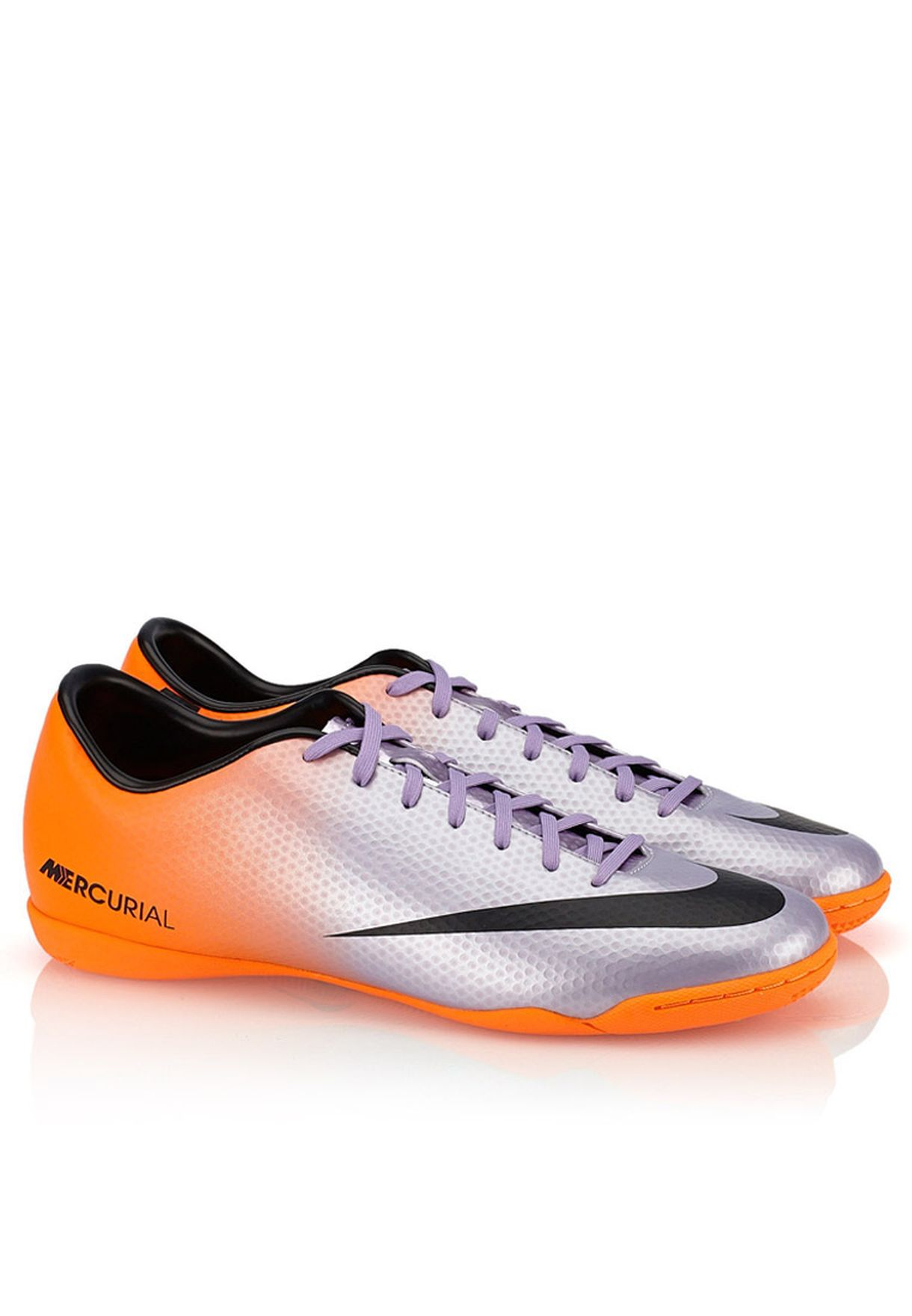 3e1c52a89fe1 Shop Nike silver Mercurial Victory IV IC 555614-508 for Men in Qatar ...