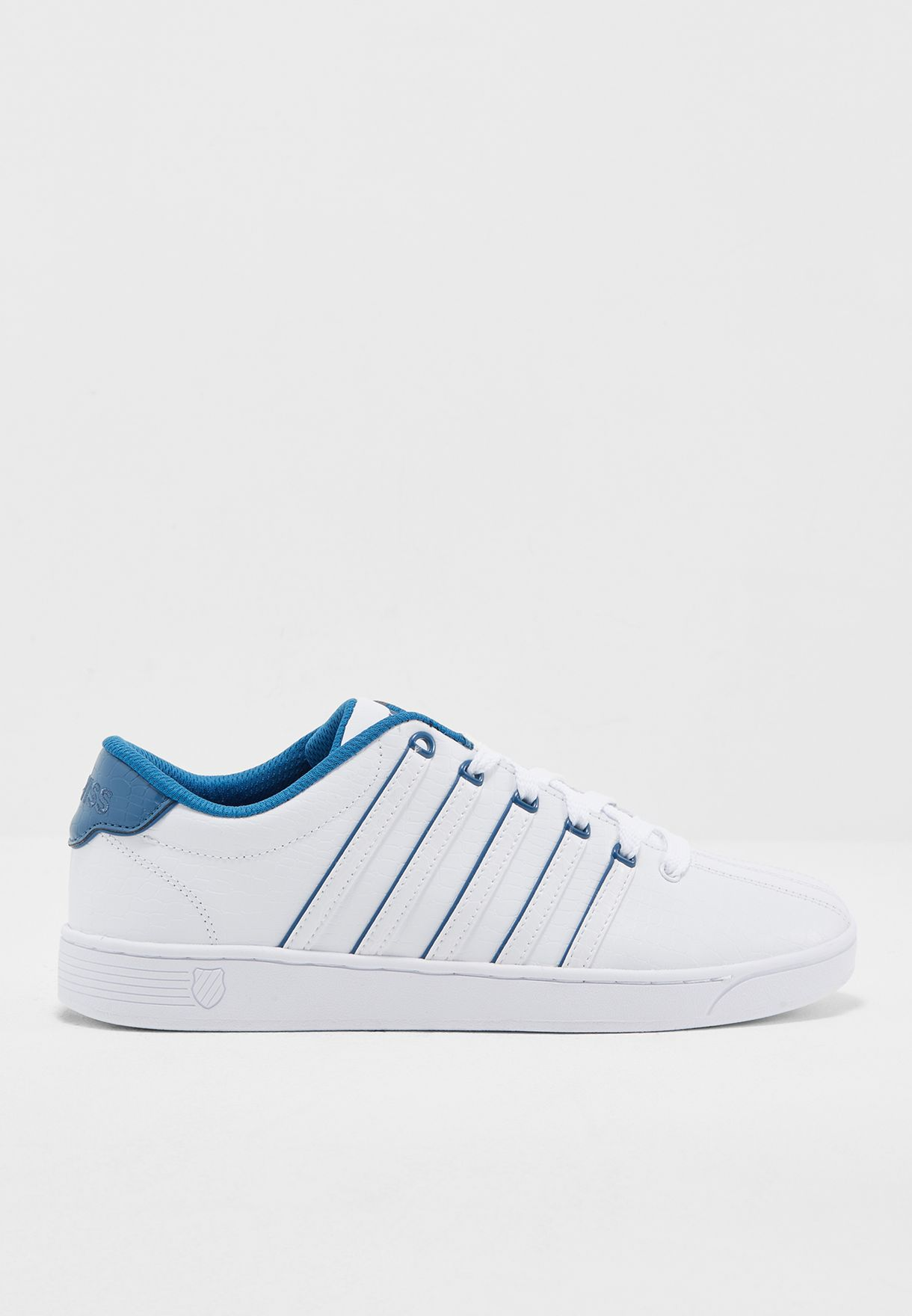 37317174b1787c Shop K Swiss white Court Pro Sneakers 05063-126 for Men in Saudi ...