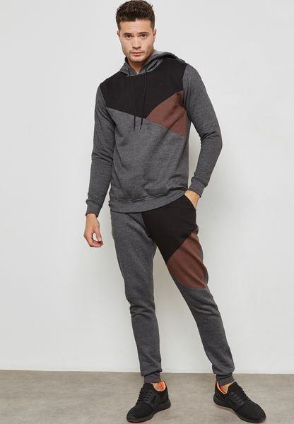 Colourblock Tracksuit