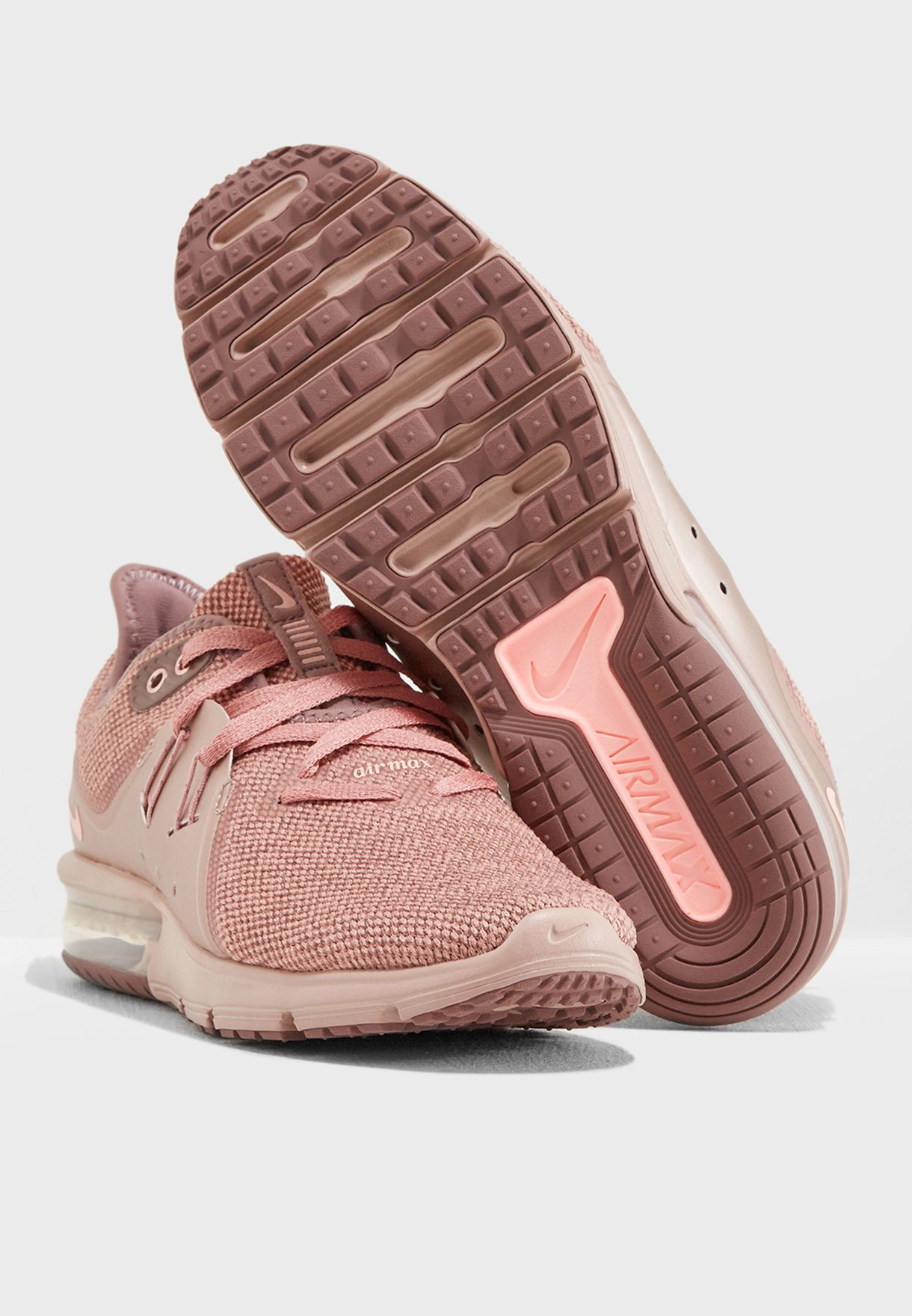 Nike Air Max Sequent 3 Premium AS Casual Women/'s Running Shoe Pink AR0256 600