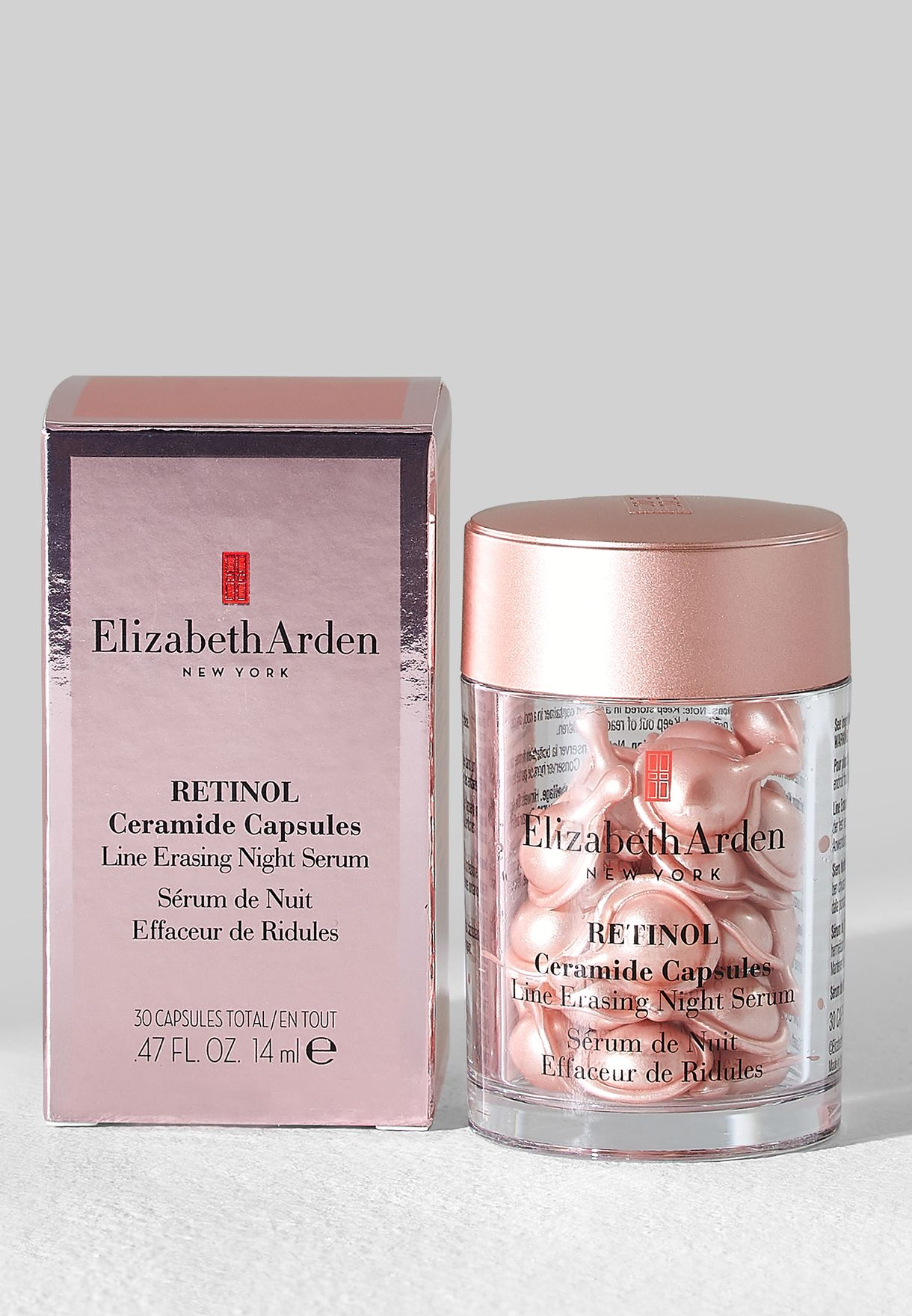 Buy Elizabeth Arden Clear Retinol Ceramide 30 Capsules For Women In Mena Worldwide Retinol Ceramide 30 Capsules