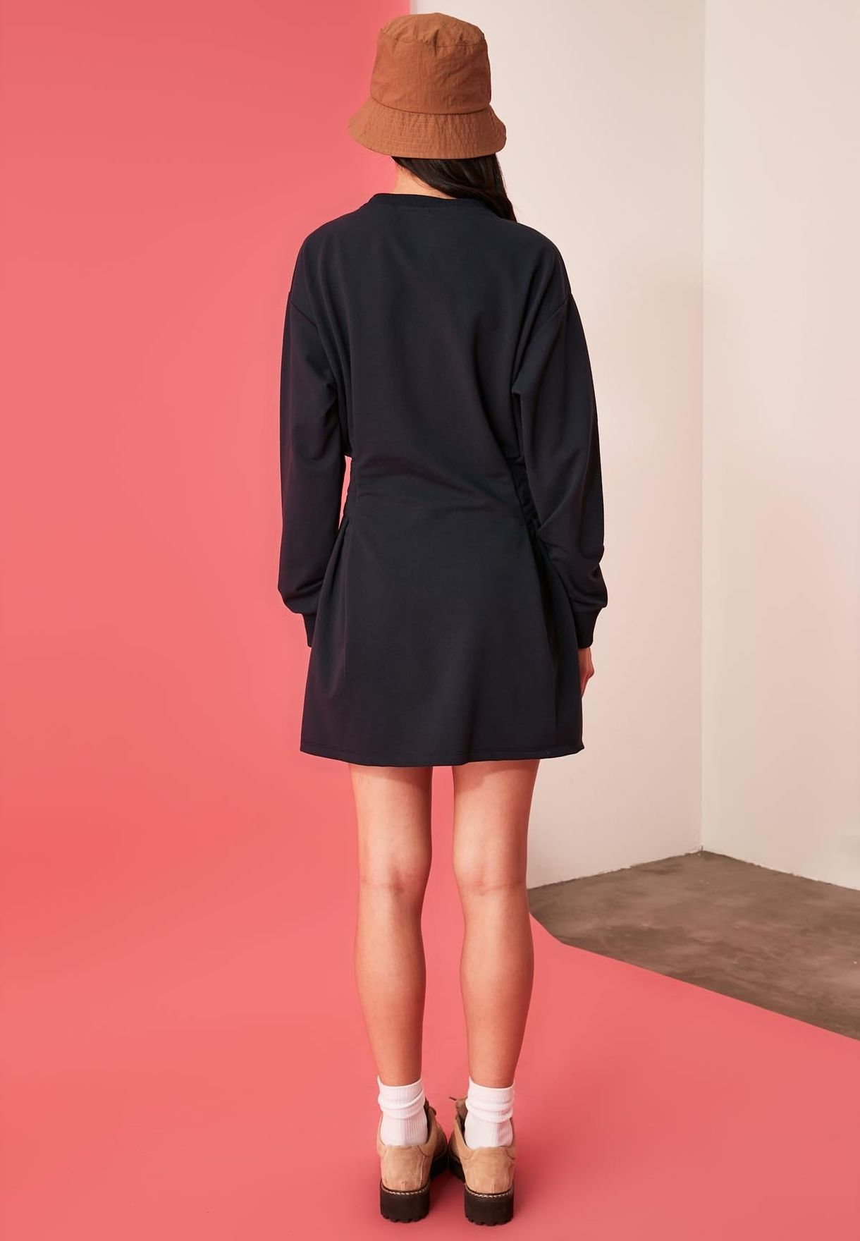 Embroidery Knitted Dress