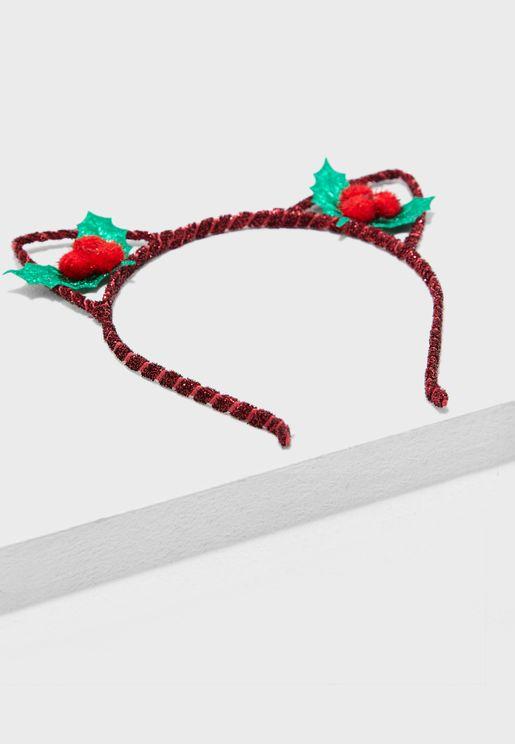 Xmas Mslet Hairband