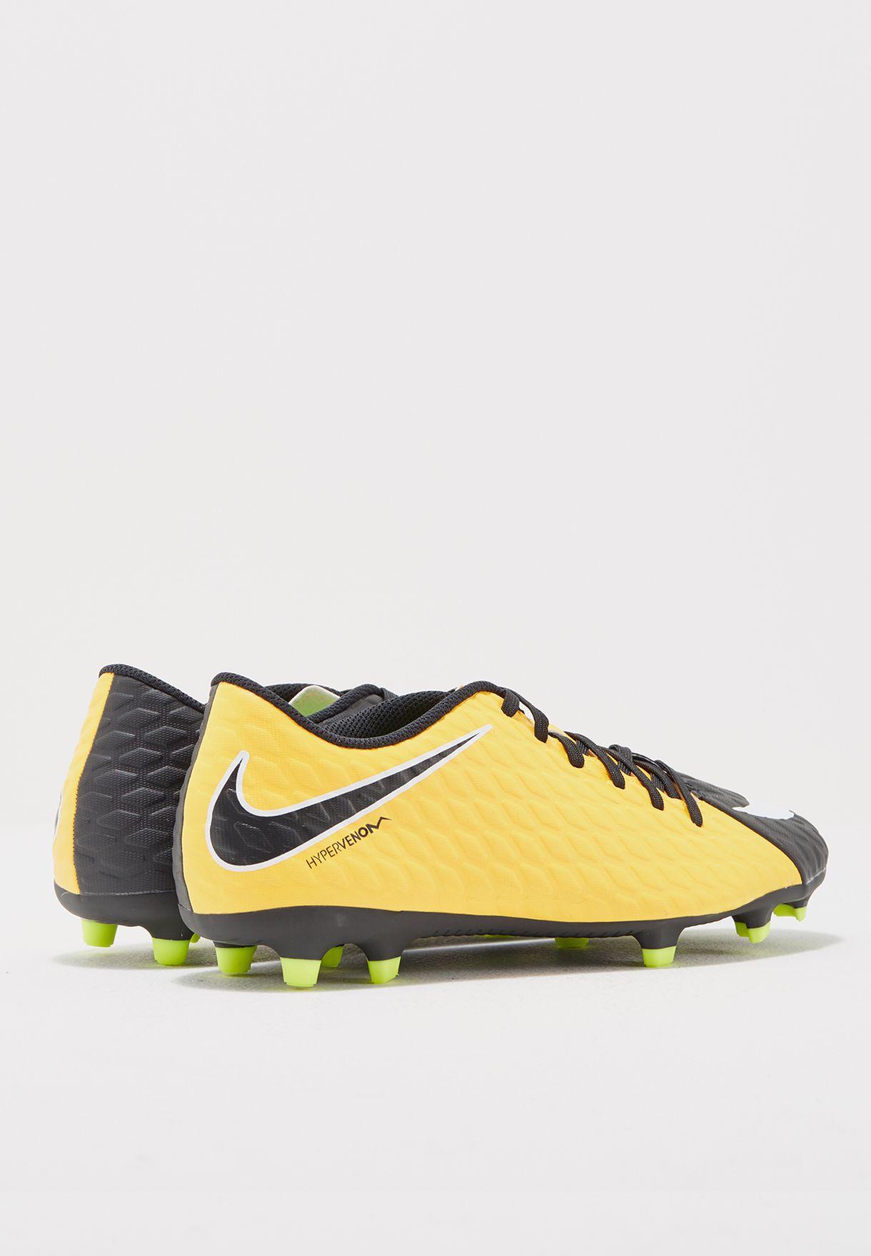 afeb3f6d0 Shop Nike orange Hypervenom Phade III FG 852547-801 for Men in Saudi ...