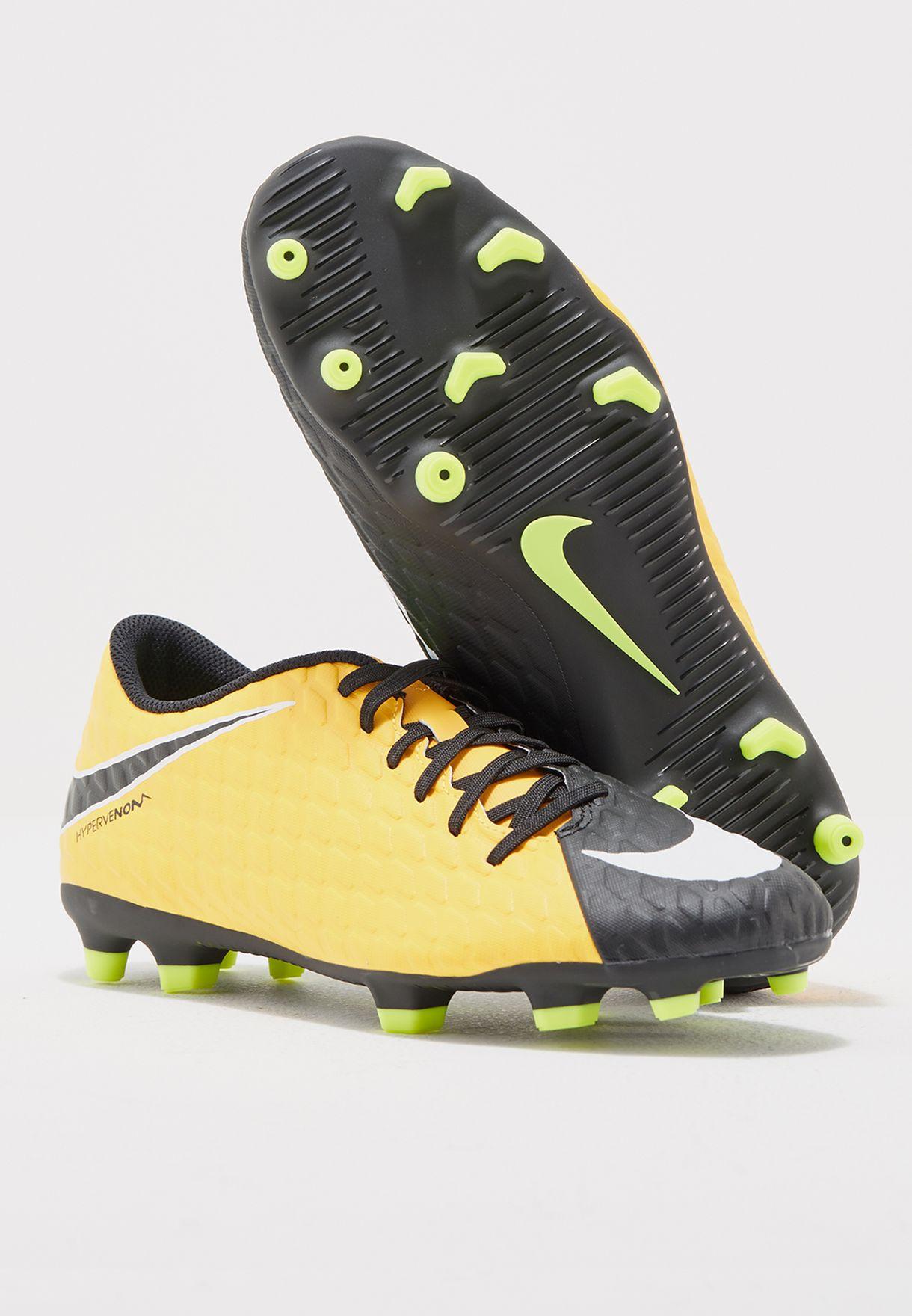 347704d84884 Shop Nike orange Hypervenom Phade III FG 852547-801 for Men in ...