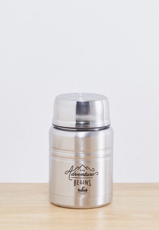 Food Flask With Spoon - 500Ml