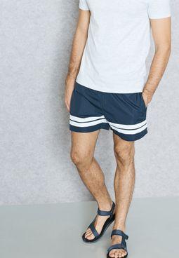 Runner Stripe Swimshorts