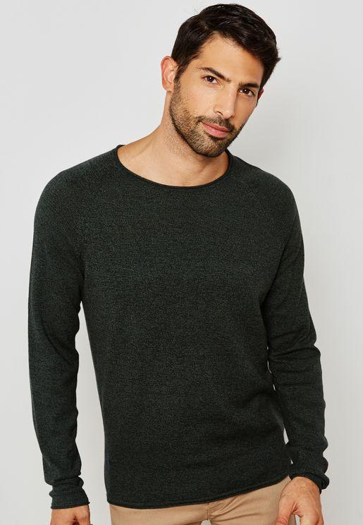 Hnn Side Crew Sweater