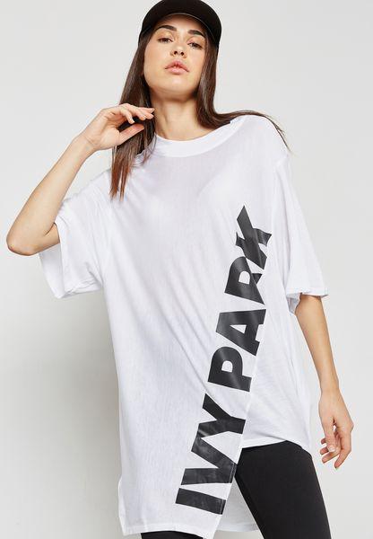 Assymmetric Logo T-Shirt