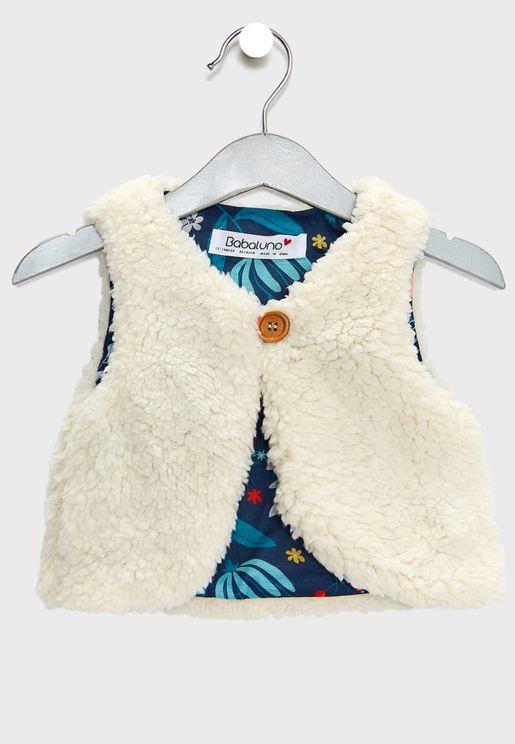 Infant Fur Detail Gilet