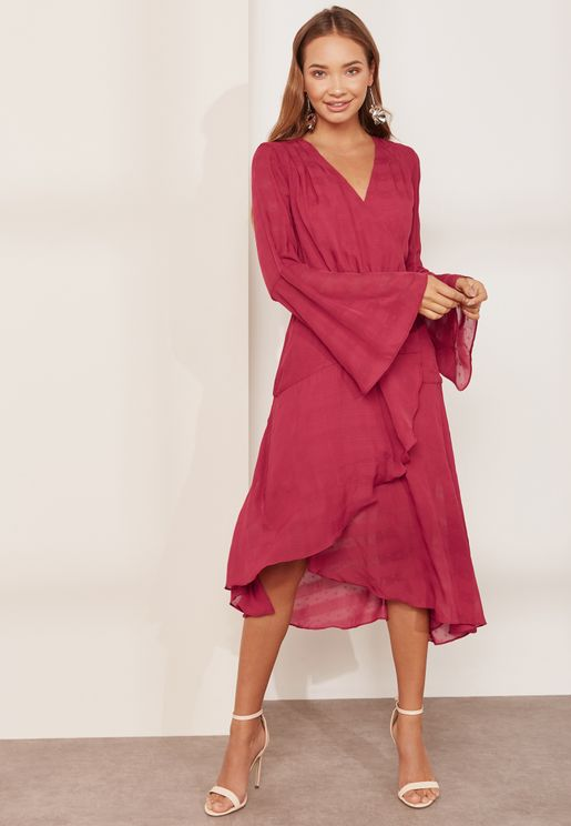 Rio Belted Wrap Dress