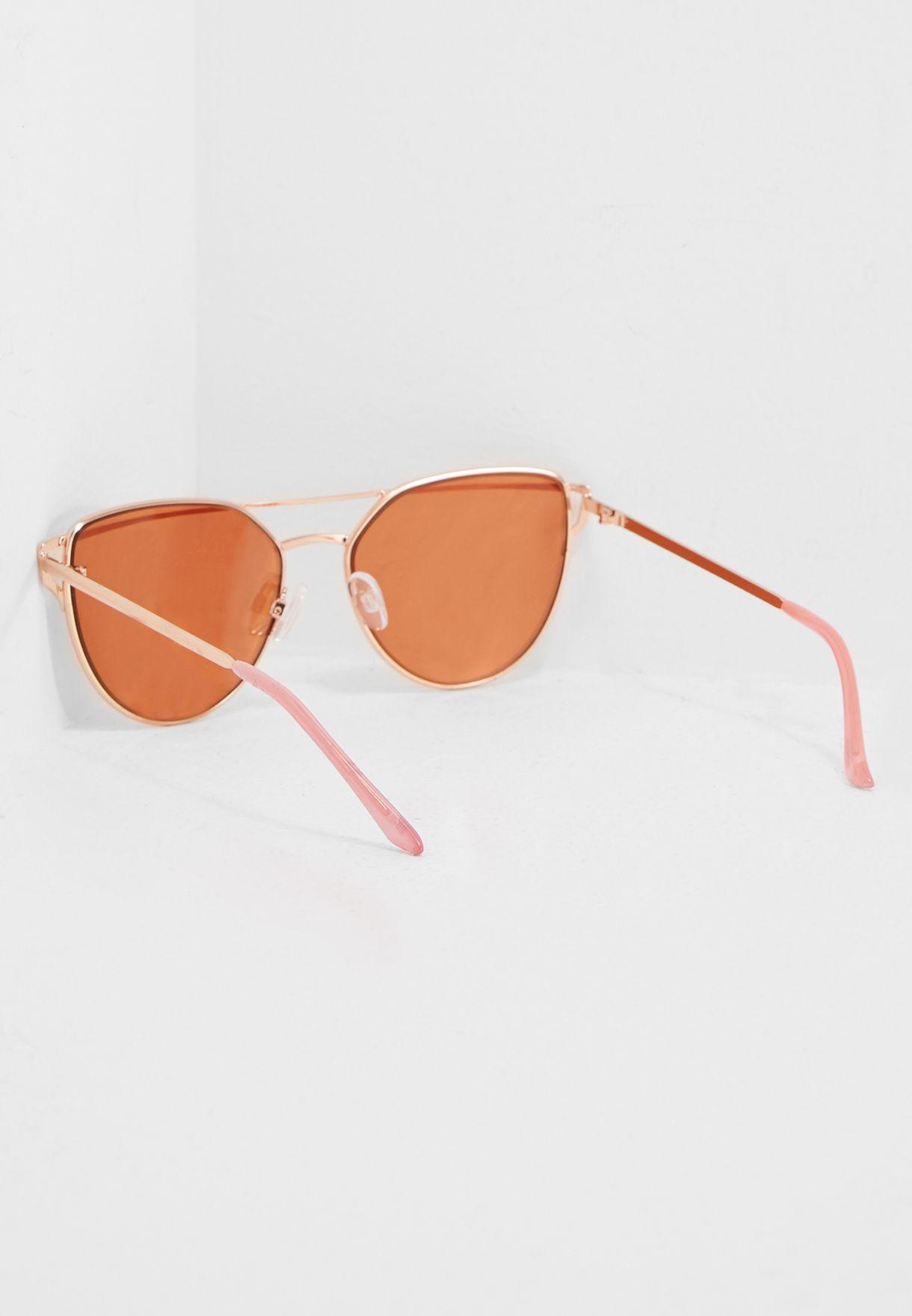 5ee77869e7a1 Shop Aldo gold Qilalla Sunglasses VILLAVESCO56 for Women in Saudi ...