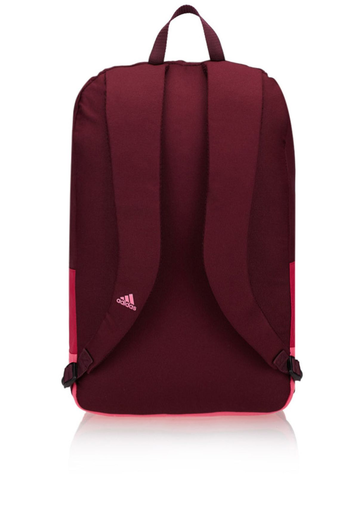 bf1b37ec62a6 Shop adidas red Versatile Block Backpack M66756 for Women in ...