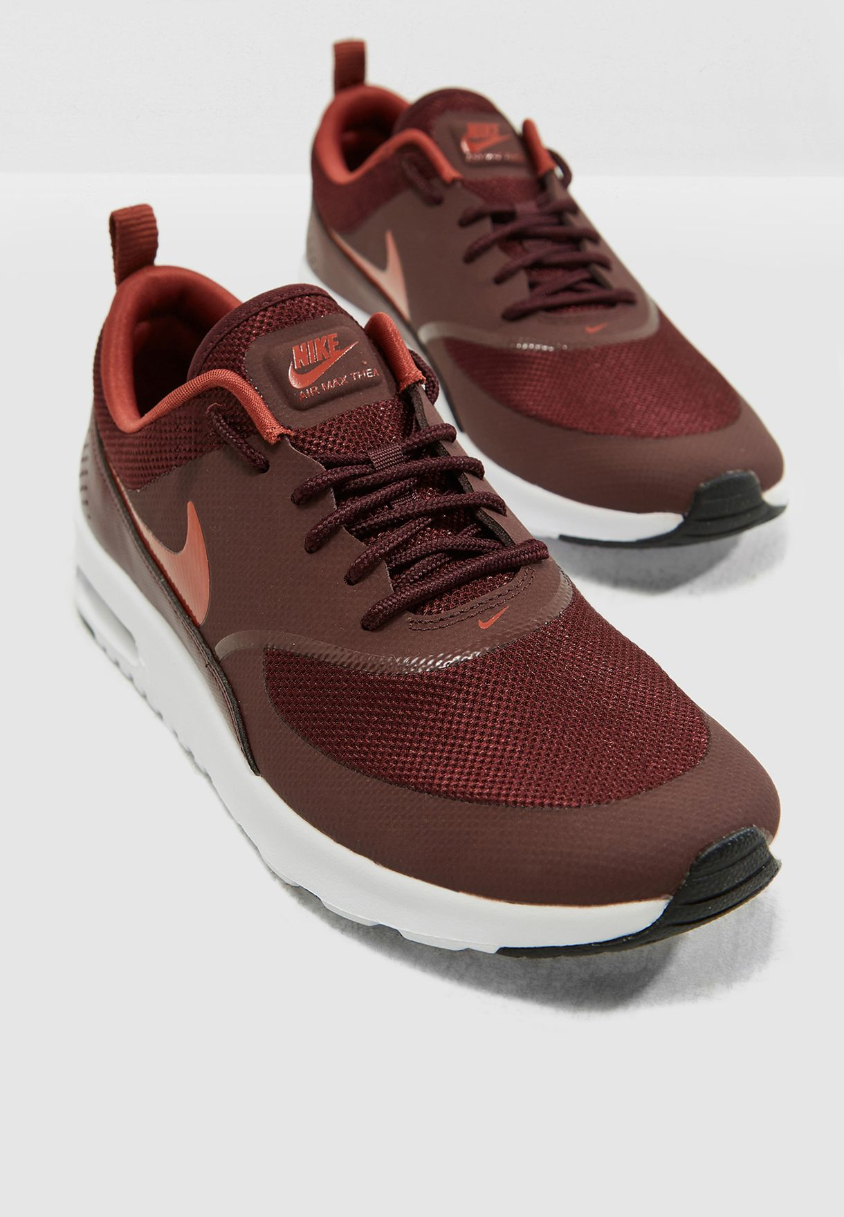 separation shoes 3a6fe 95f05 Shop Nike burgundy Air Max Thea 599409-615 for Women in Saudi ...