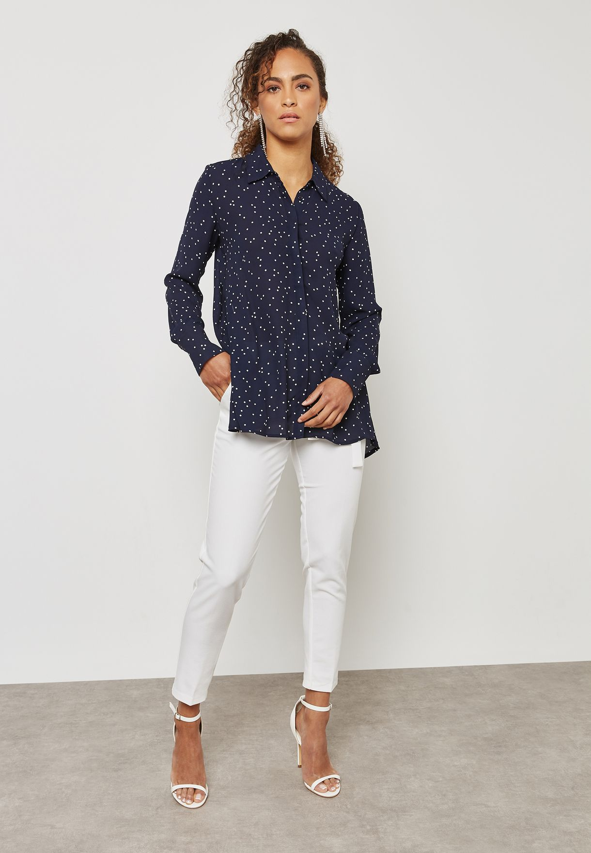 Tie Back Detail Shirt