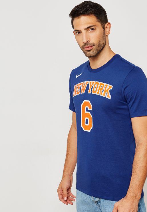 New York Knicks Kristaps Porzingis T-Shirt